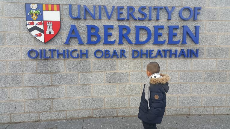 Me and University of Aberdeen